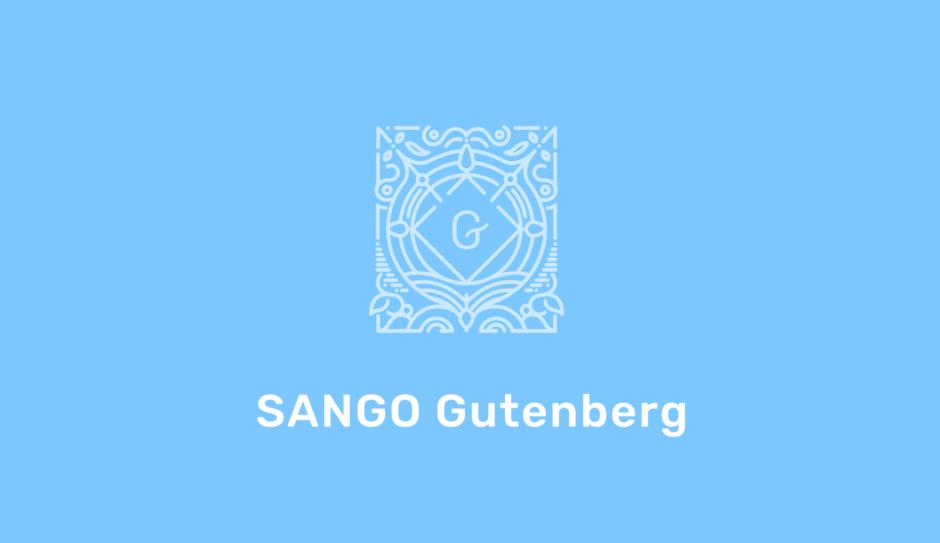 SANGO gutenberg