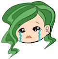 ワケワカメちゃんの顔(泣)