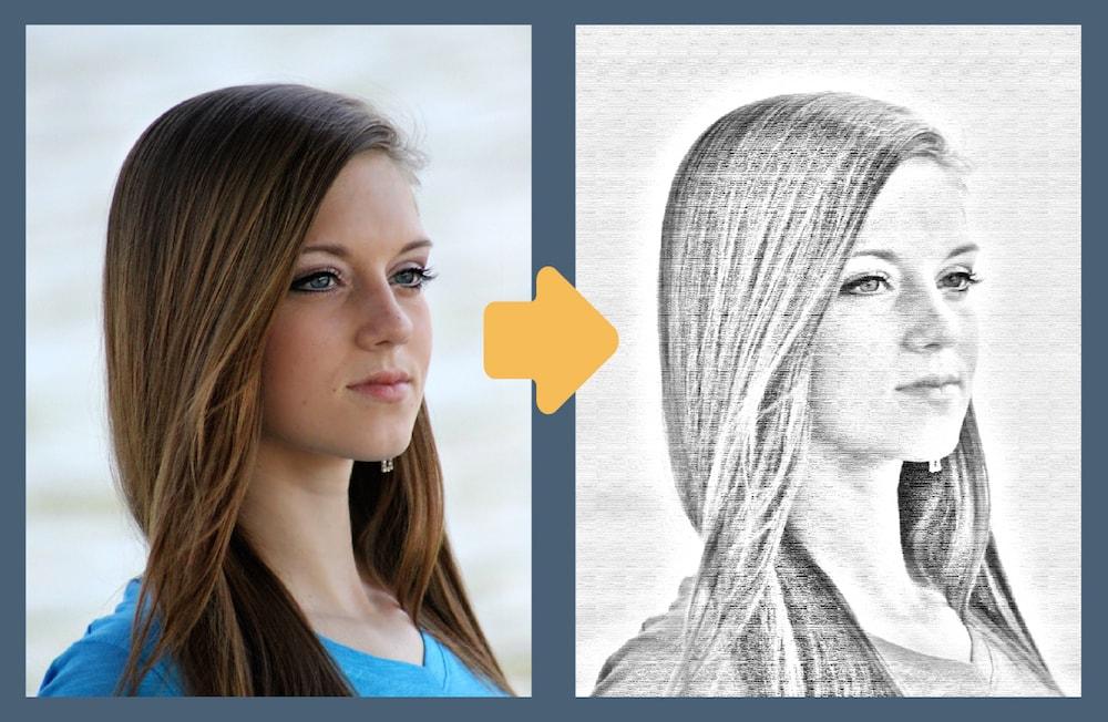 Photoshopで写真をイラスト風に加工する 鉛筆タッチ
