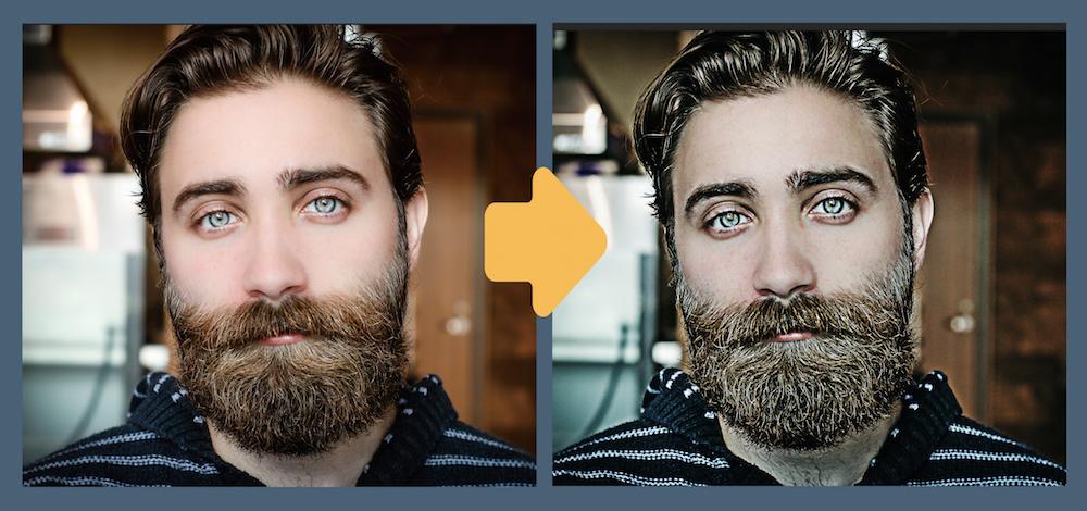 Photoshopで映画風にレタッチ