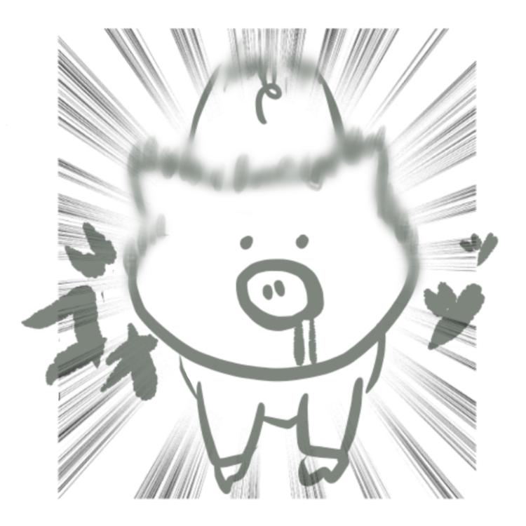 豚の速度はボルト並み