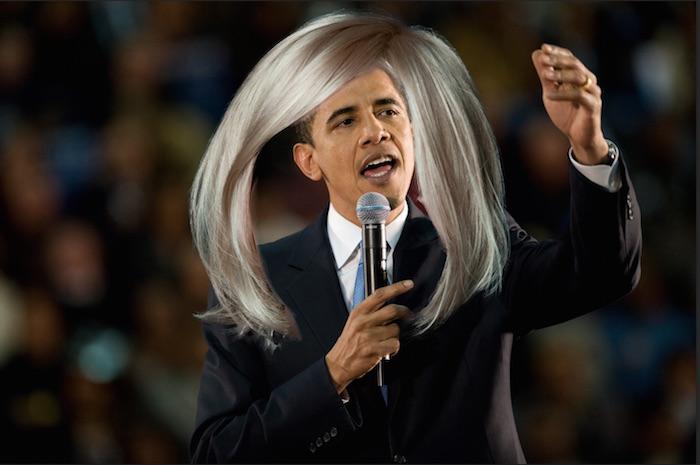 髪の毛をペースト