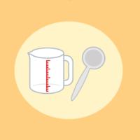 【図解】計量スプーンと計量カップの使い方