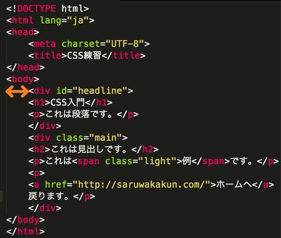 HTMLタグをテキストエディタに貼付け