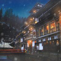 【Photoshop】写真に自然で美しい雪を降らせるレタッチ