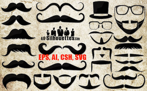 free-vector-moustaches