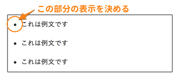 list-style-typeとは?