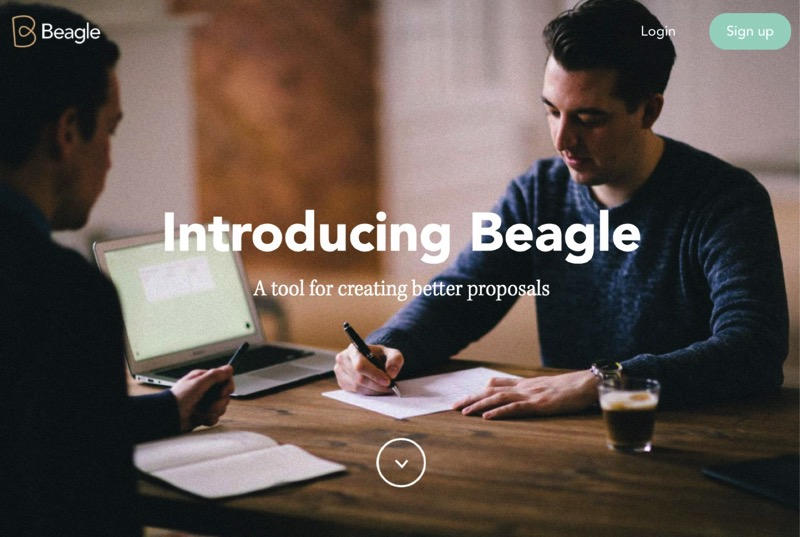 Beagle by Podio Proposal Software