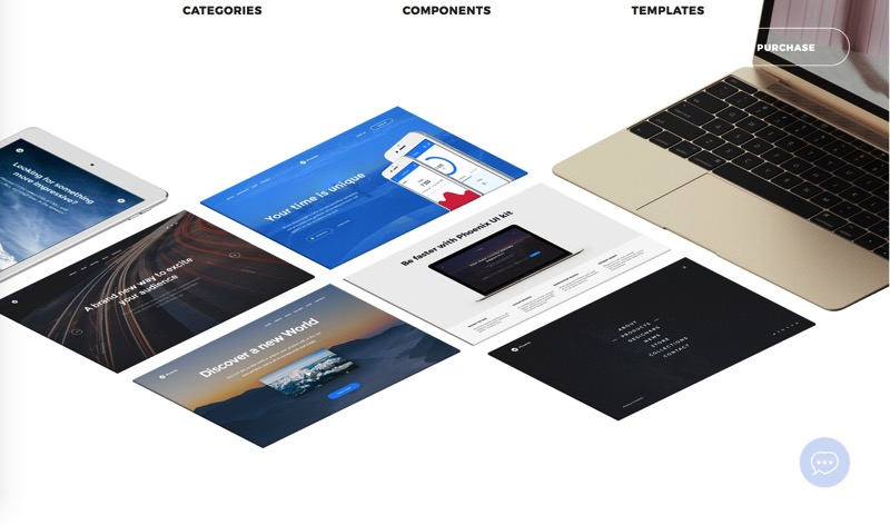 Phoenix Startup UI kit   a tool based on Bootstrap