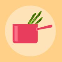 美味しいアスパラの茹で方:下ごしらえからイラストで解説