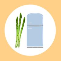 アスパラの保存方法:冷凍保存の仕方もイラストで解説!