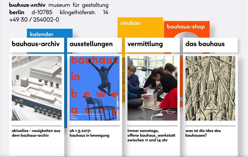 Bauhaus Archiv 🔊