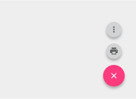 表示されるアクションボタンの中にメニューを表示させない