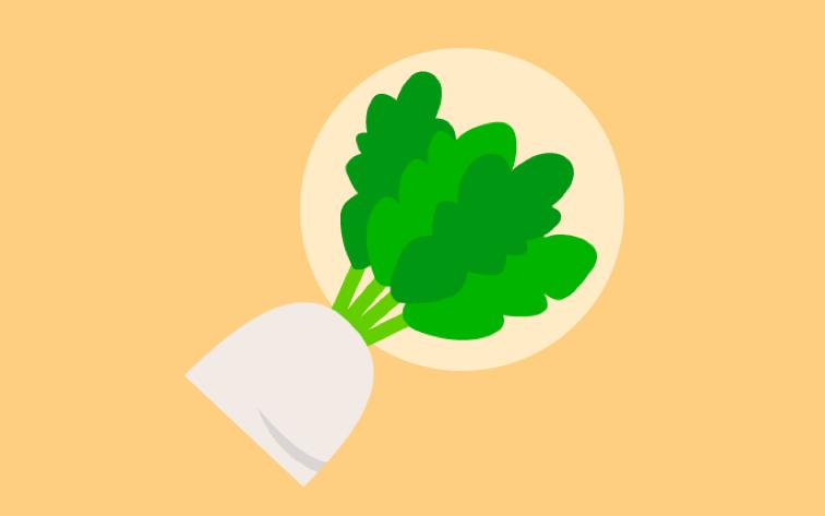 大根の葉の食べ方と栄養