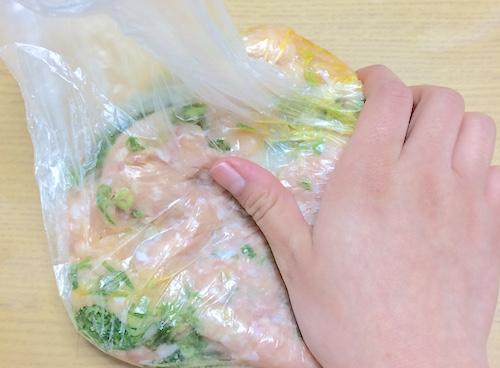 鶏つくねの作り方2