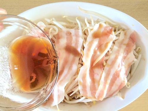 豚バラもやしポン酢レシピ5