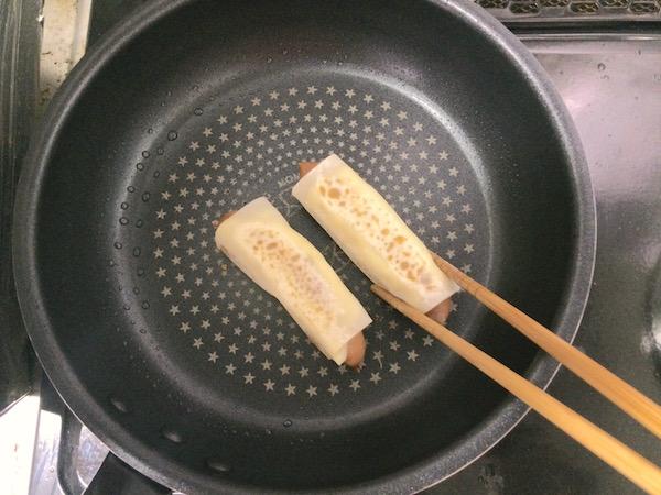 かりかりウインナーレシピ4