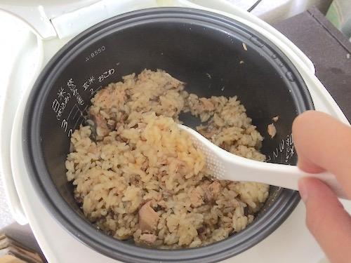 さば味噌炊き込みごはんレシピ6