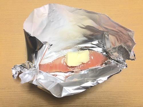 バターをのせる