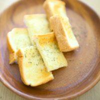 5分で作れるガーリックトーストの簡単レシピ