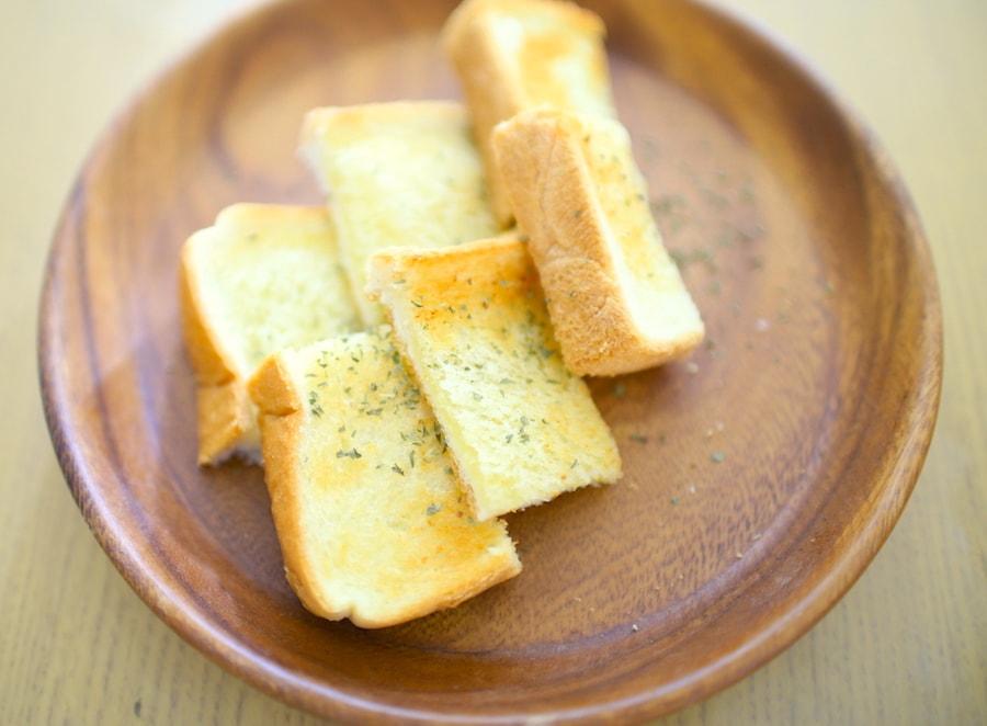 ガーリックトーストのレシピ