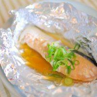 トースターで焼くだけ!ネギぽん鮭のホイル焼きレシピ