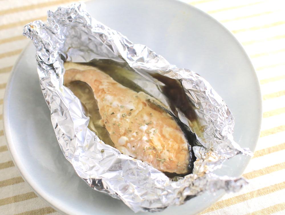 鮭のバターしょうゆホイル焼き