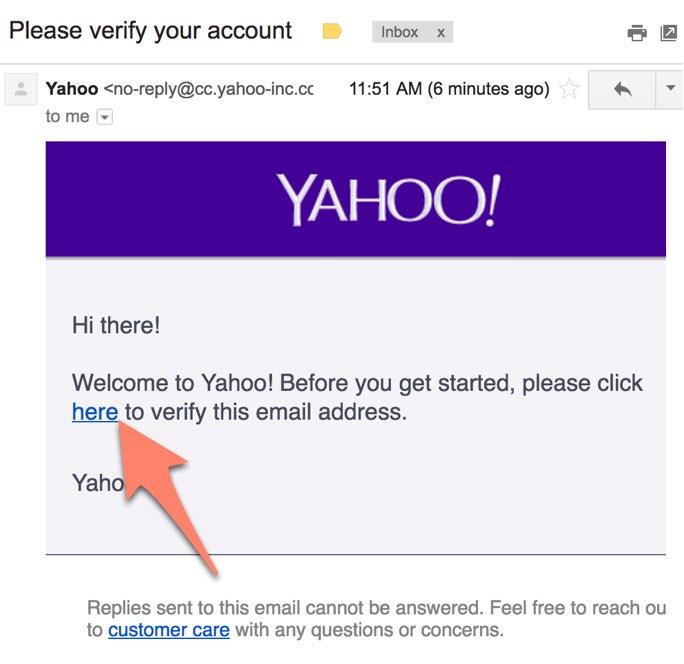 メールをチェック