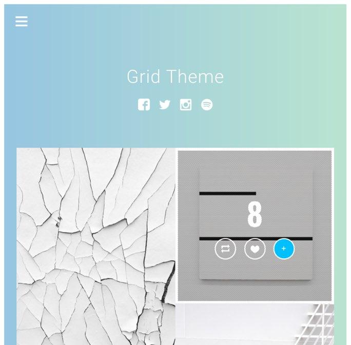 grid theme
