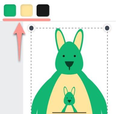 イラストに使われる色を指定