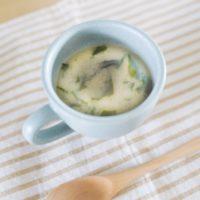 洗い物はお椀だけ!超簡単な即席味噌汁の作り方