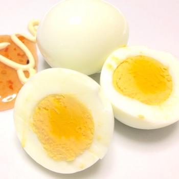 超簡単なゆで卵の完成