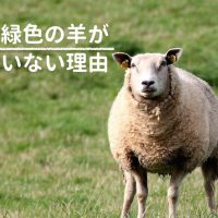 緑色の羊がいない理由