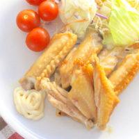 手羽中と焼肉のタレで作れる絶品ズボラごはんのレシピ