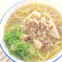 麻婆麺の簡単レシピ:まとめて作った麻婆豆腐を簡単アレンジ