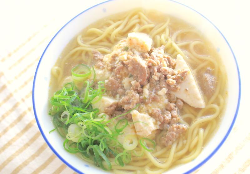 麻婆麺の簡単レシピ