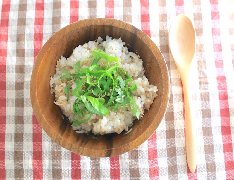 和風ツナマヨまぜごはんの簡単レシピ