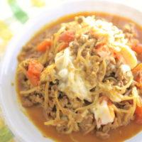 もやしとひき肉のカレーチーズ炒め!安ウマ晩御飯の簡単レシピ
