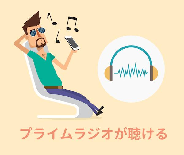 ラジオが聴ける