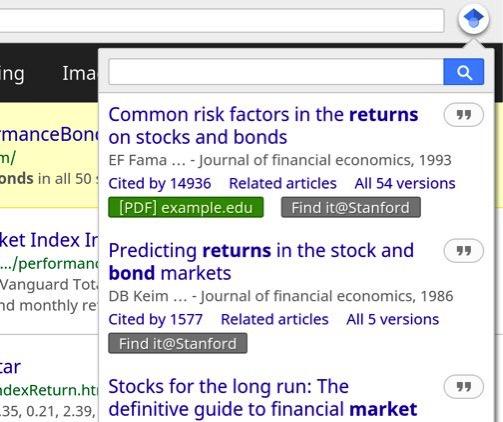 google scholarボタン