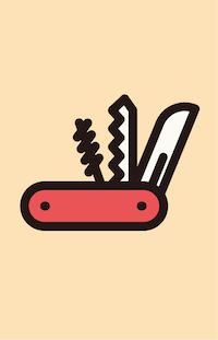 五徳ナイフ