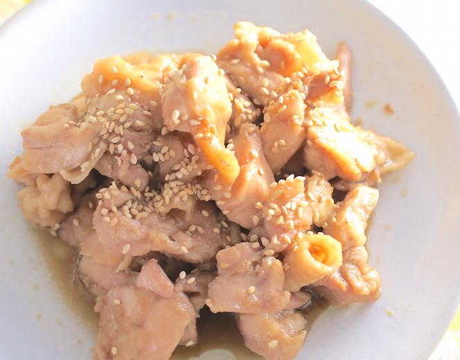 鶏もも肉の照り焼き完成