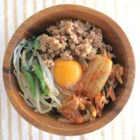 超簡単!電子レンジで作れる肉味噌ビビンバのレシピ
