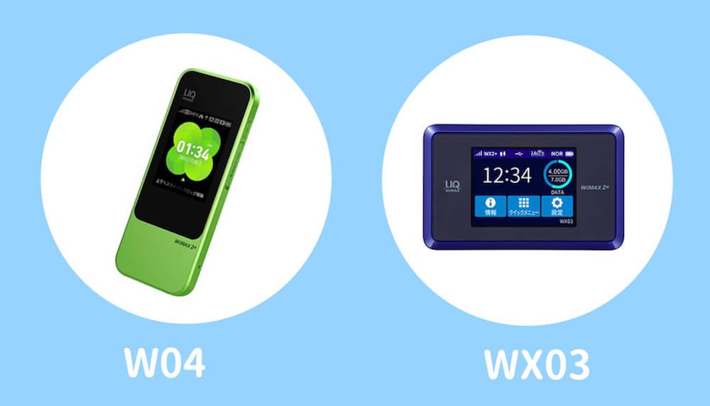WiMAXのモバイルルーター2種類