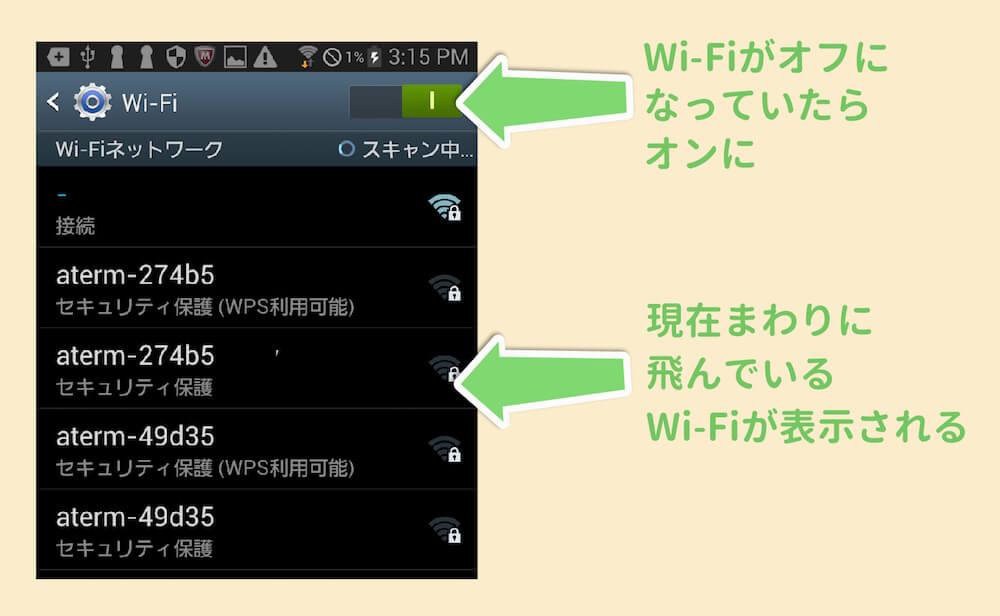 Wi fi の 接続 の 仕方