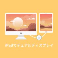 iPadでデュアルディスプレイ