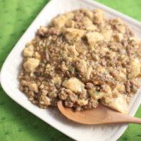 焼肉のタレで作るズボラ麻婆豆腐の簡単レシピ