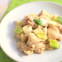 鶏肉と長ネギの味噌マヨ!電子レンジで作る簡単おかずレシピ