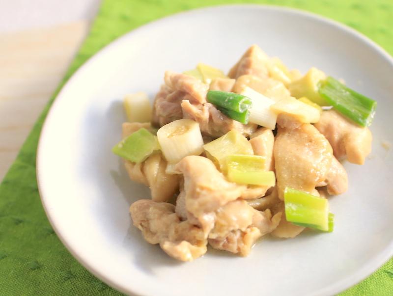鶏もも肉と長ネギの簡単おかずレシピ