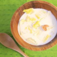 アレが隠し味。白菜とウインナーの簡単ミルクスープのレシピ